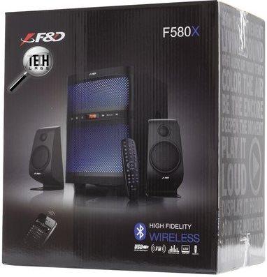 Обзор акустической системы F&D F580x внешний вид