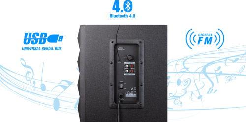 F&D A180X Bluetooth USB FM радио