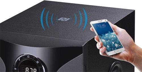 NFC управление со смартфона F&D F380X