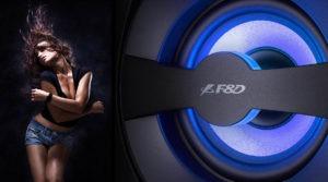 новость видеообзор акустической системы F&D f380x