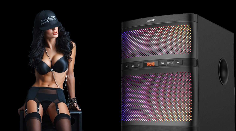 новость видеообзор акустической системы F&D f580x