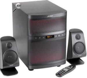 Обзор акустической системы F&D F580x RGB подсветка