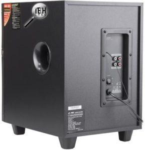 Обзор акустической системы F&D F580x задняя панель