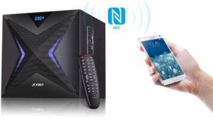 Технология NFC в акустике F&D F550X