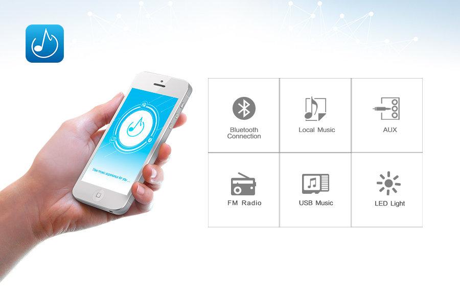 Мобильное приложение для Fenda F580X